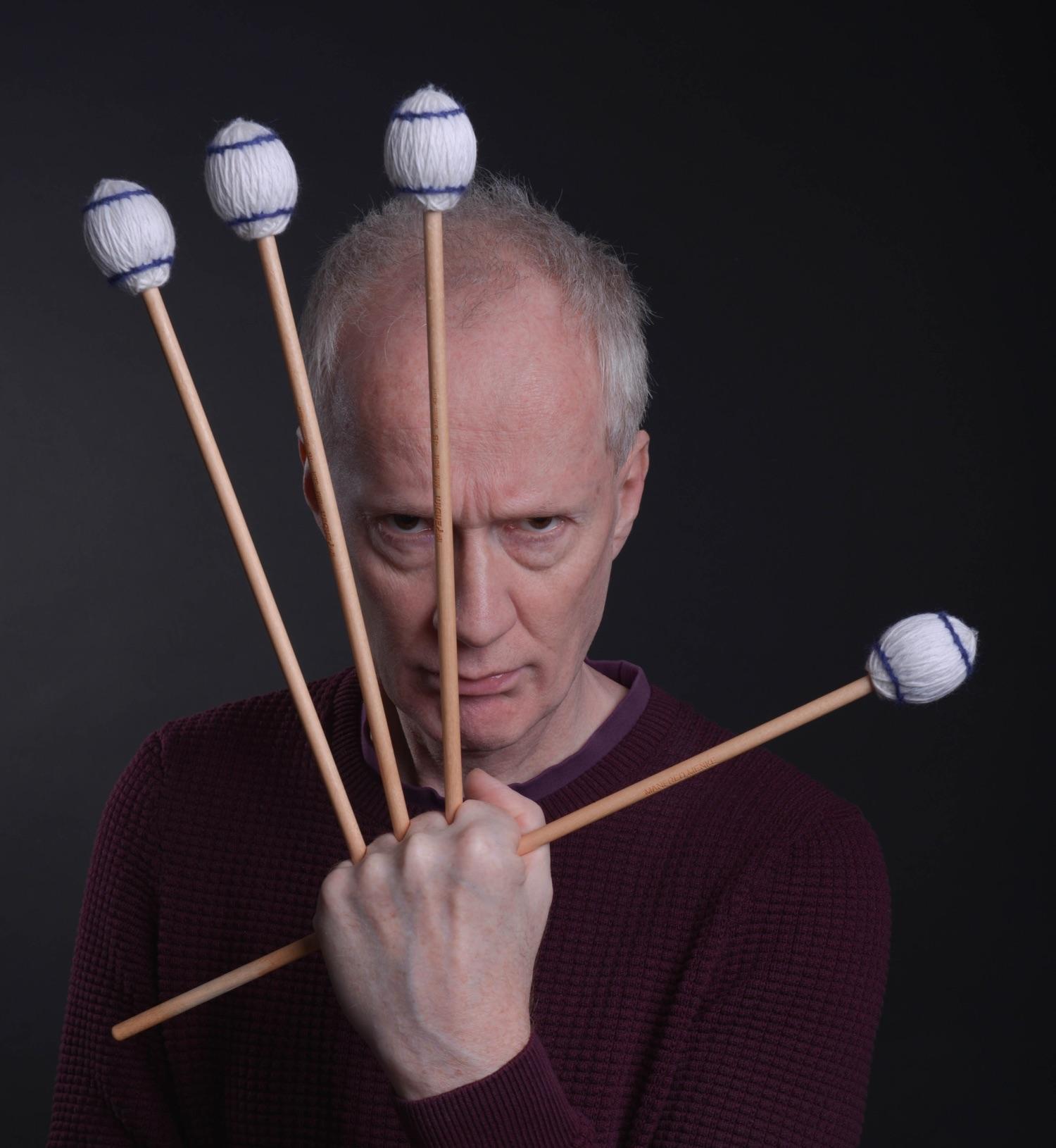 Der Wolverine-Grip für Marimba