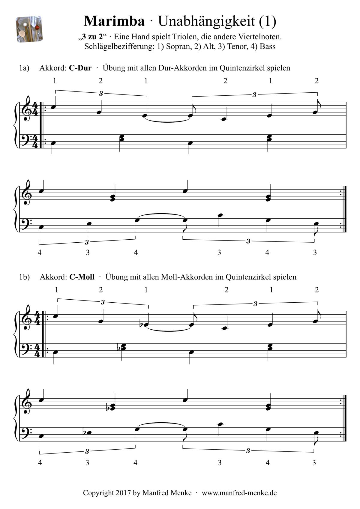 Marimba · Unabhaengigkeit (Seite 1)